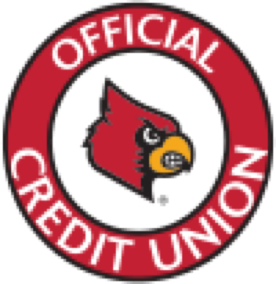 University of Louisville's Official Credit Union seal.