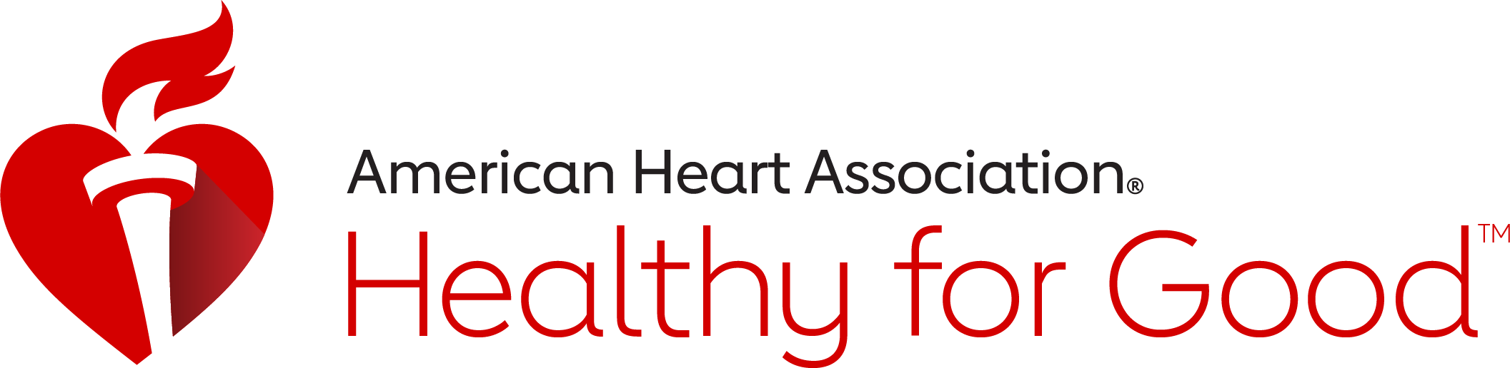 American Heart Association Healthy for Good logo.
